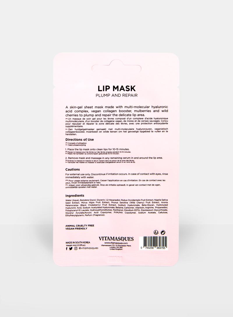Vitamasques Lip Mask Plump and Repair
