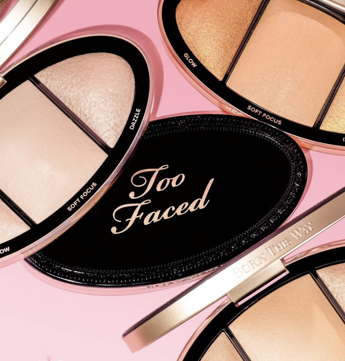Too Faced Born This Way Turn Up the Light Skin Centric Highlighting Palette