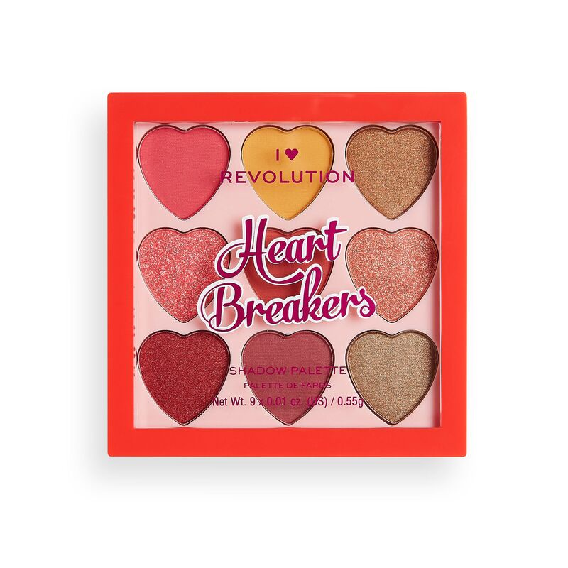 I Heart Revolution Heartbreakers Eyeshadow Palette Collection