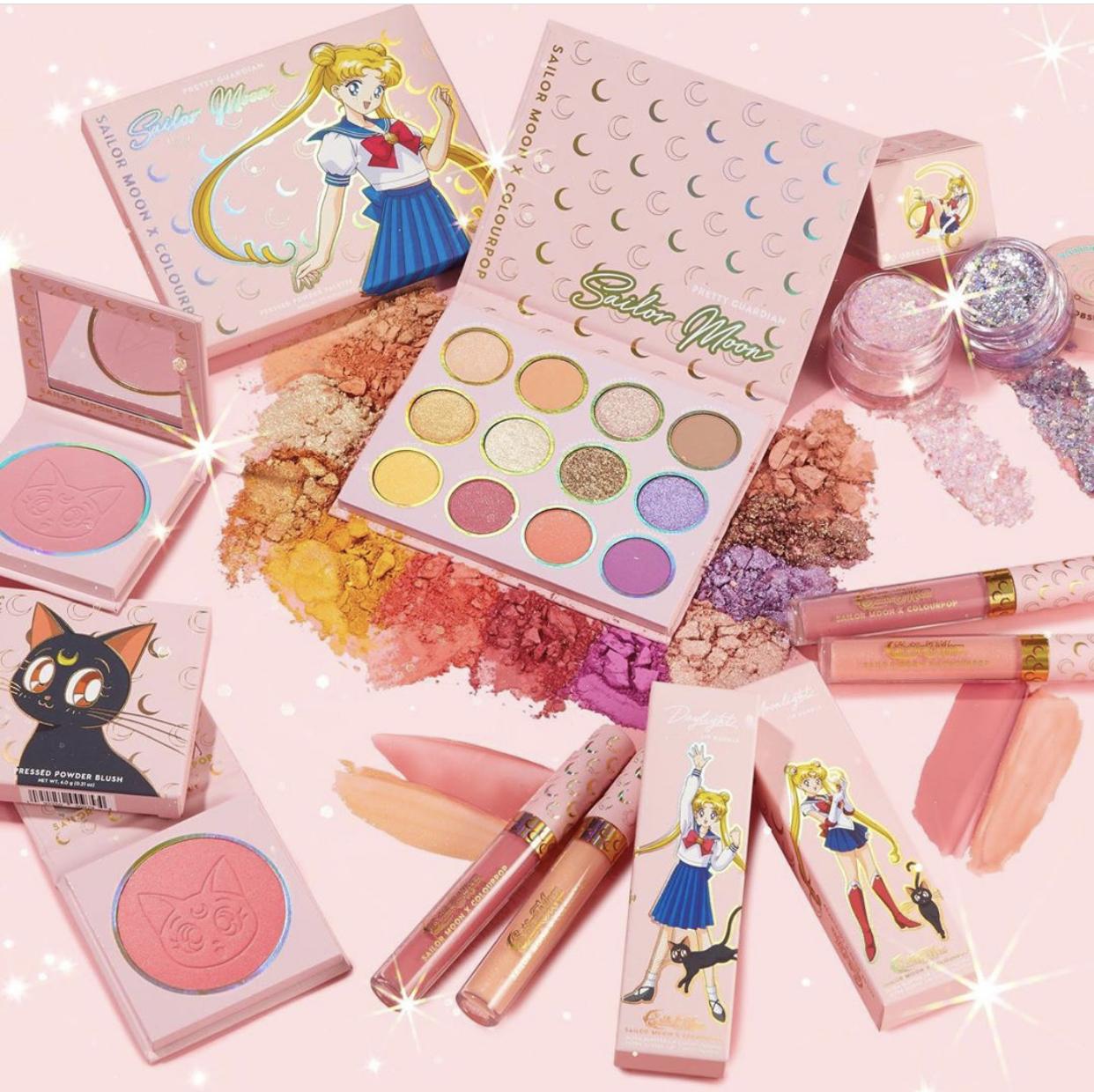 ColourPop x Sailor Moon Collection Reveal