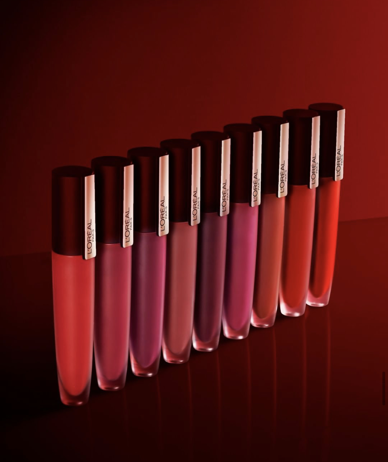 L'Oreal EmpoweRed Rouge Signature Matte Lip Stain Collection