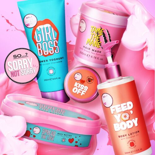 So Sorry Not Sorry Bath and Body Collection