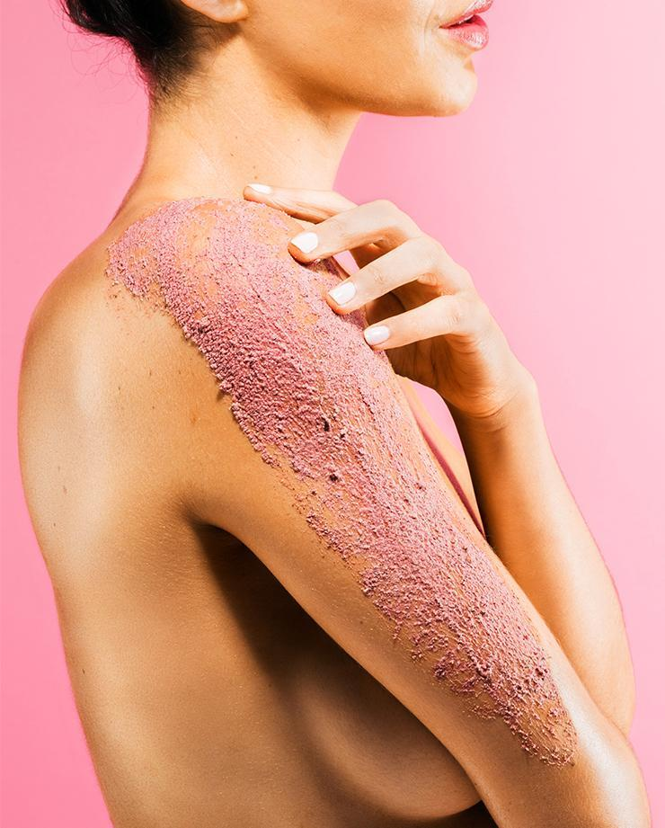Sand and Sky Australian Pink Clay Smoothing Body Sand
