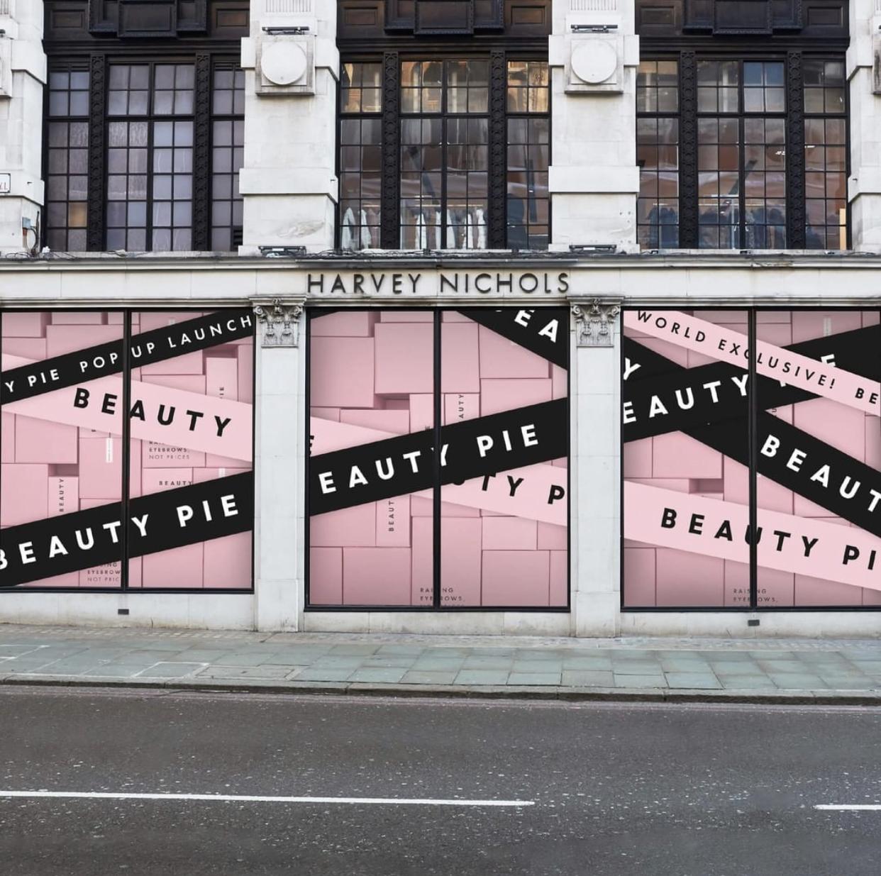 Beauty Pie Launch Pop Up Shop!