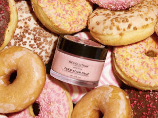 Revolution x Jake Jamie Strawberry Donut Face Mask