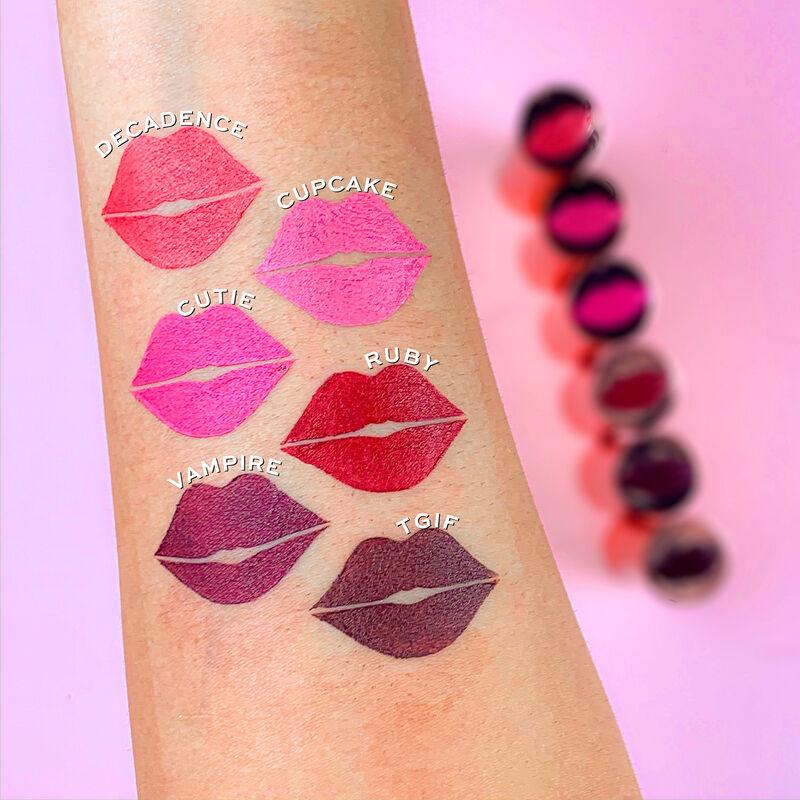 Revolution Satin Kiss Lipstick Collection