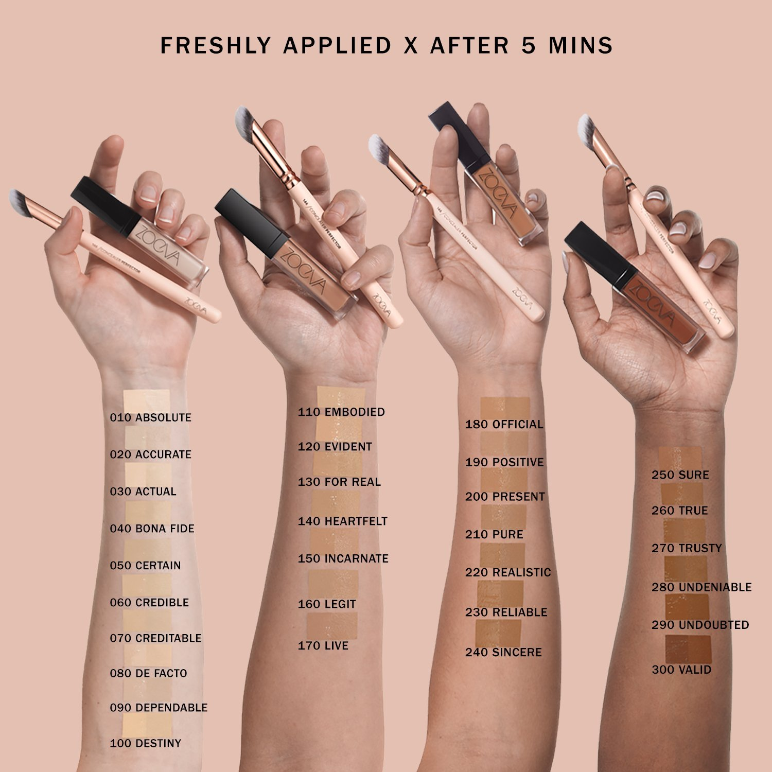 Zoeva Authentik Skin Perfector Concealer