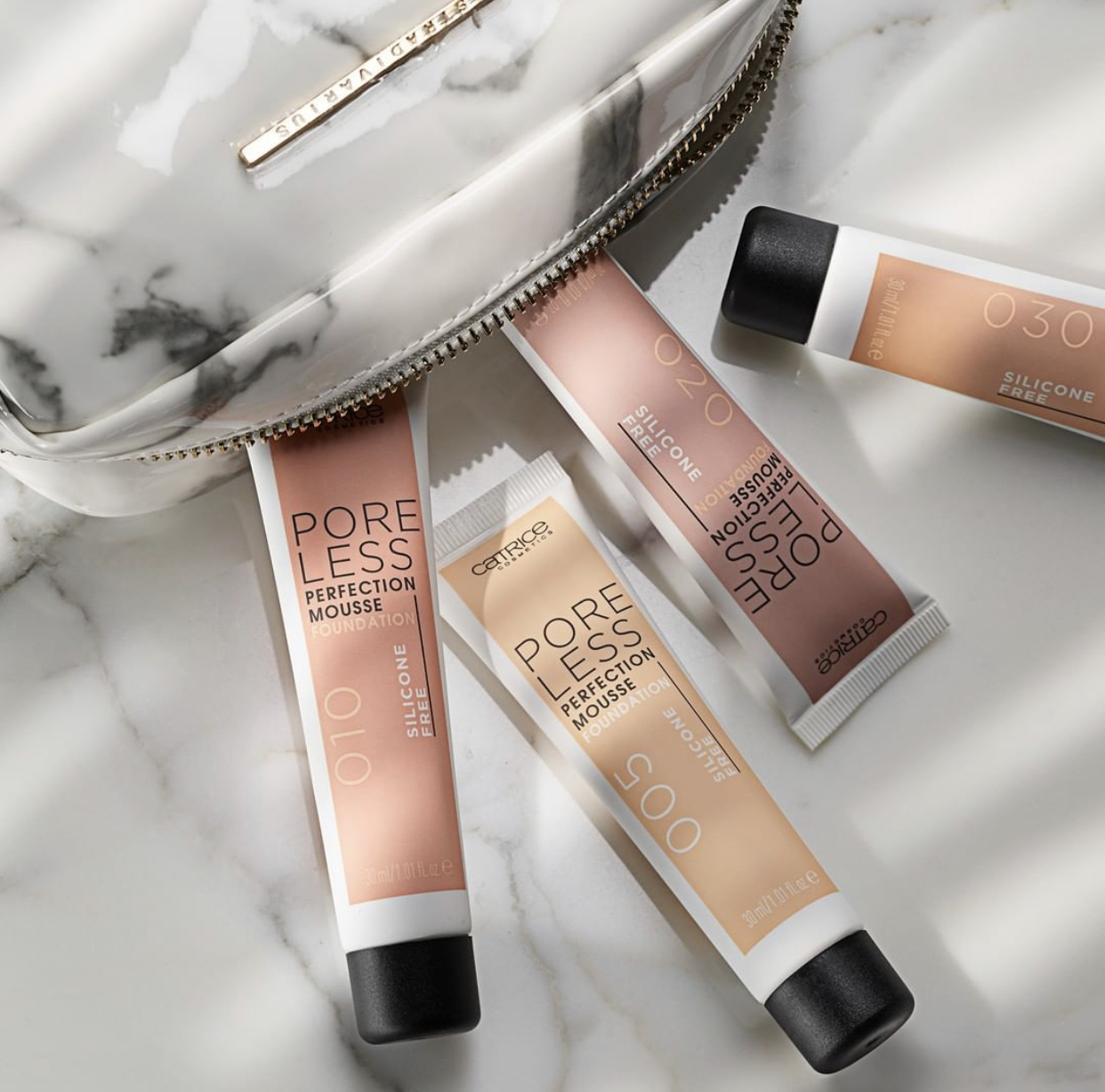 Catrice Poreless Perfection Mousse Foundation Launch 2020