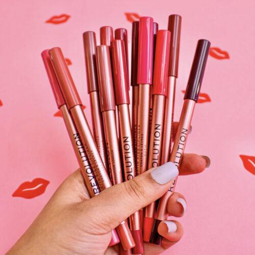 Revolution Satin Kiss Lip Liners