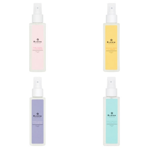 Superdrug Bloom Body Mist Collection