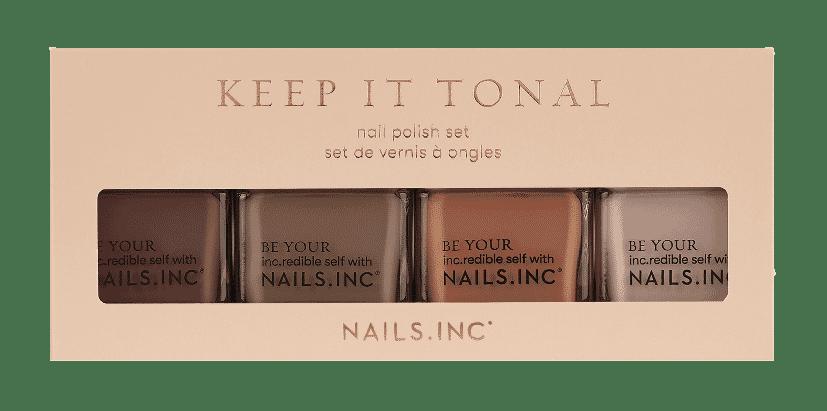 Nails Inc Keep It Tonal Nail Polish Set