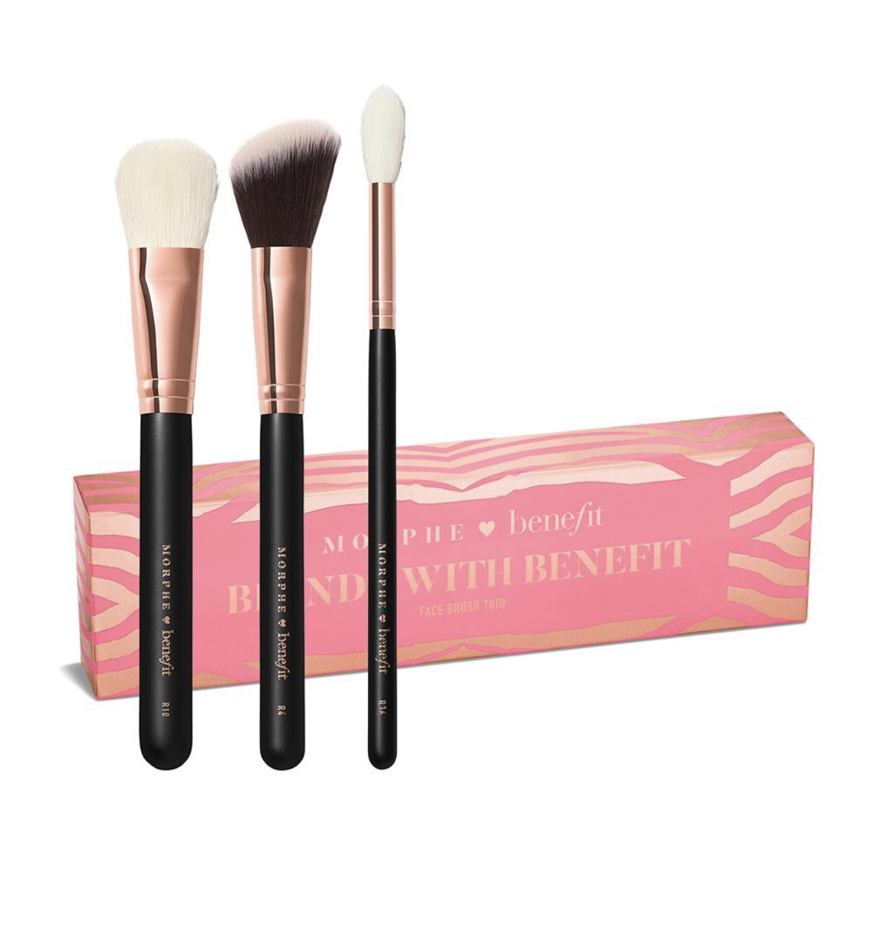 Benefit x Morphe Blends With Benefit Brush Trio Set