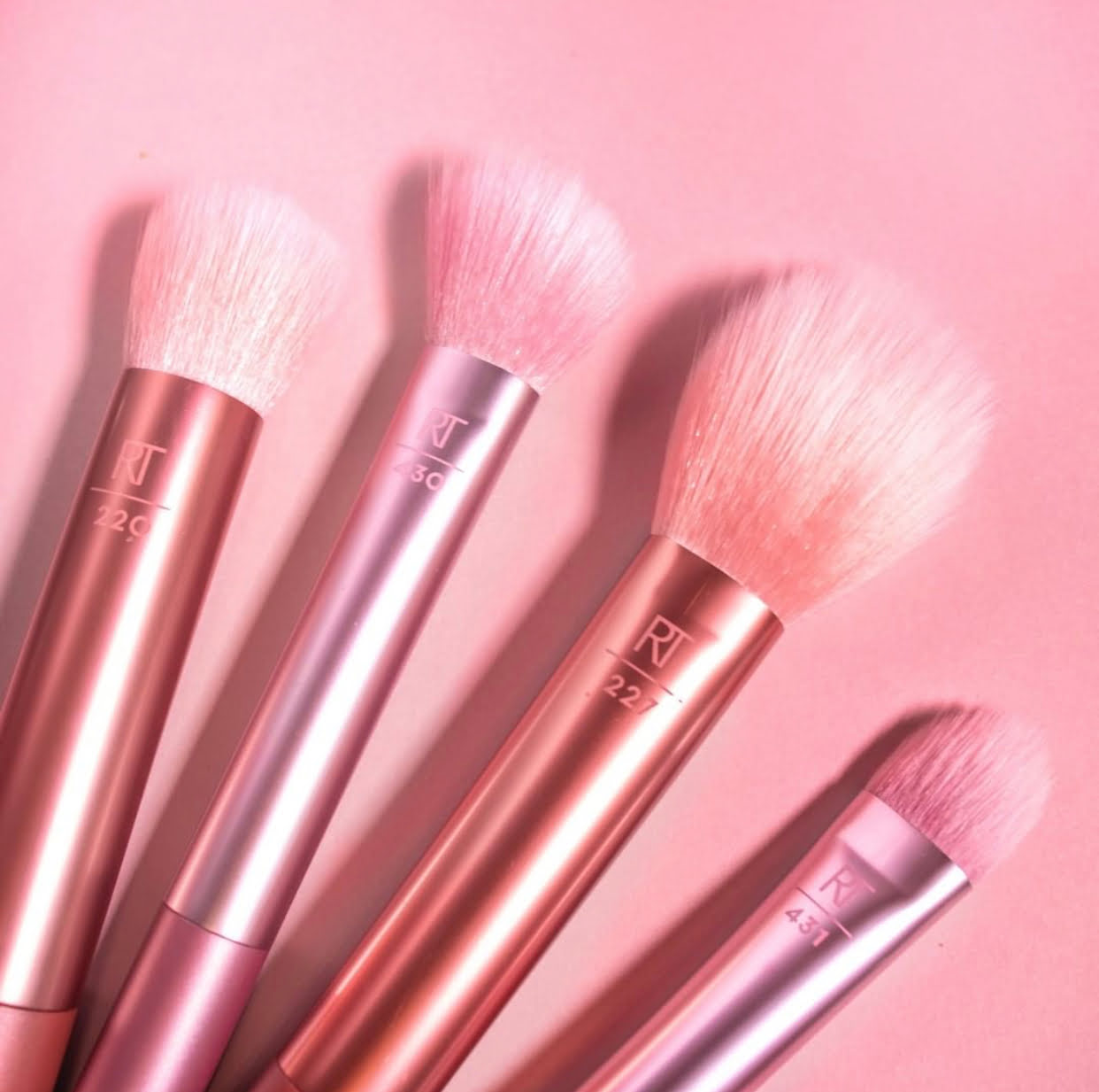 Real Techniques Light Layer Brush Collection