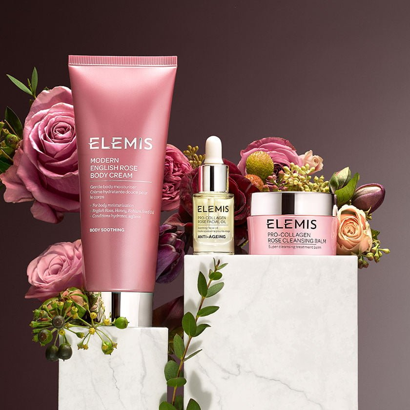 Elemis Rose Radiance Collection Gift Set