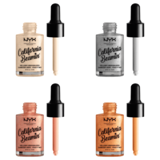 NYX California Beamin Face and Body Liquid Highlighter
