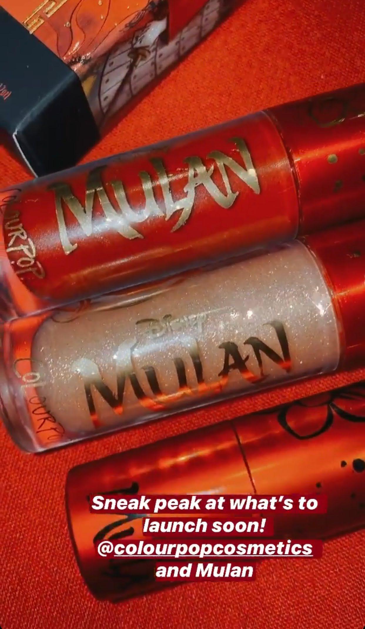 ColourPop Disney Mulan Collection