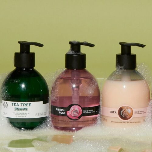 The Body Shop Hand Wash Collection