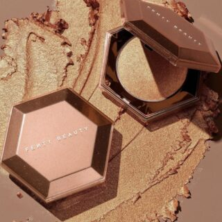 Fenty Beauty Cognac Candy Diamond Bomb All Over Diamond Veil