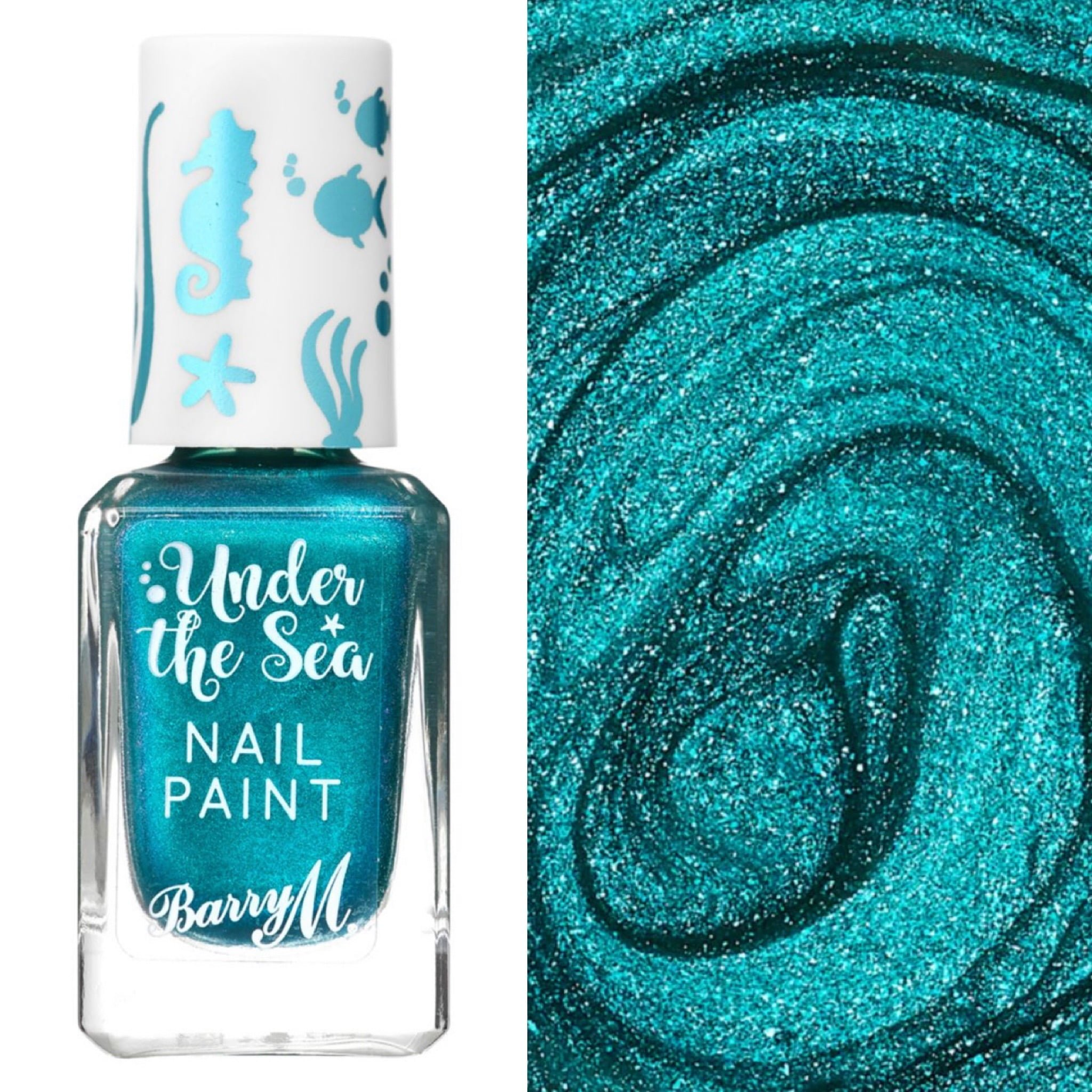 Barry M Mermaid Tail Under The Sea Nail Paint