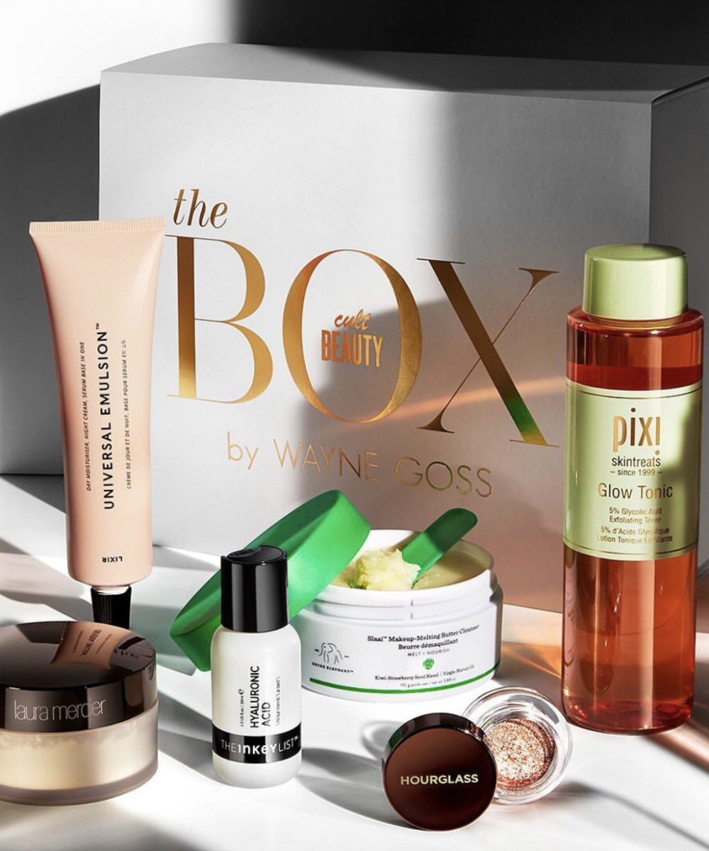 Cult Beauty Wayne Goss Beauty Box March 2020