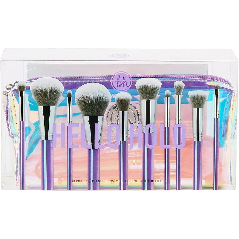 BH Cosmetics Hello Holo Brush Set