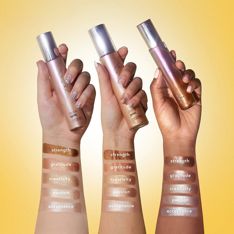 Ignite Liquified Light Face & Body Highlighter by BECCA #4