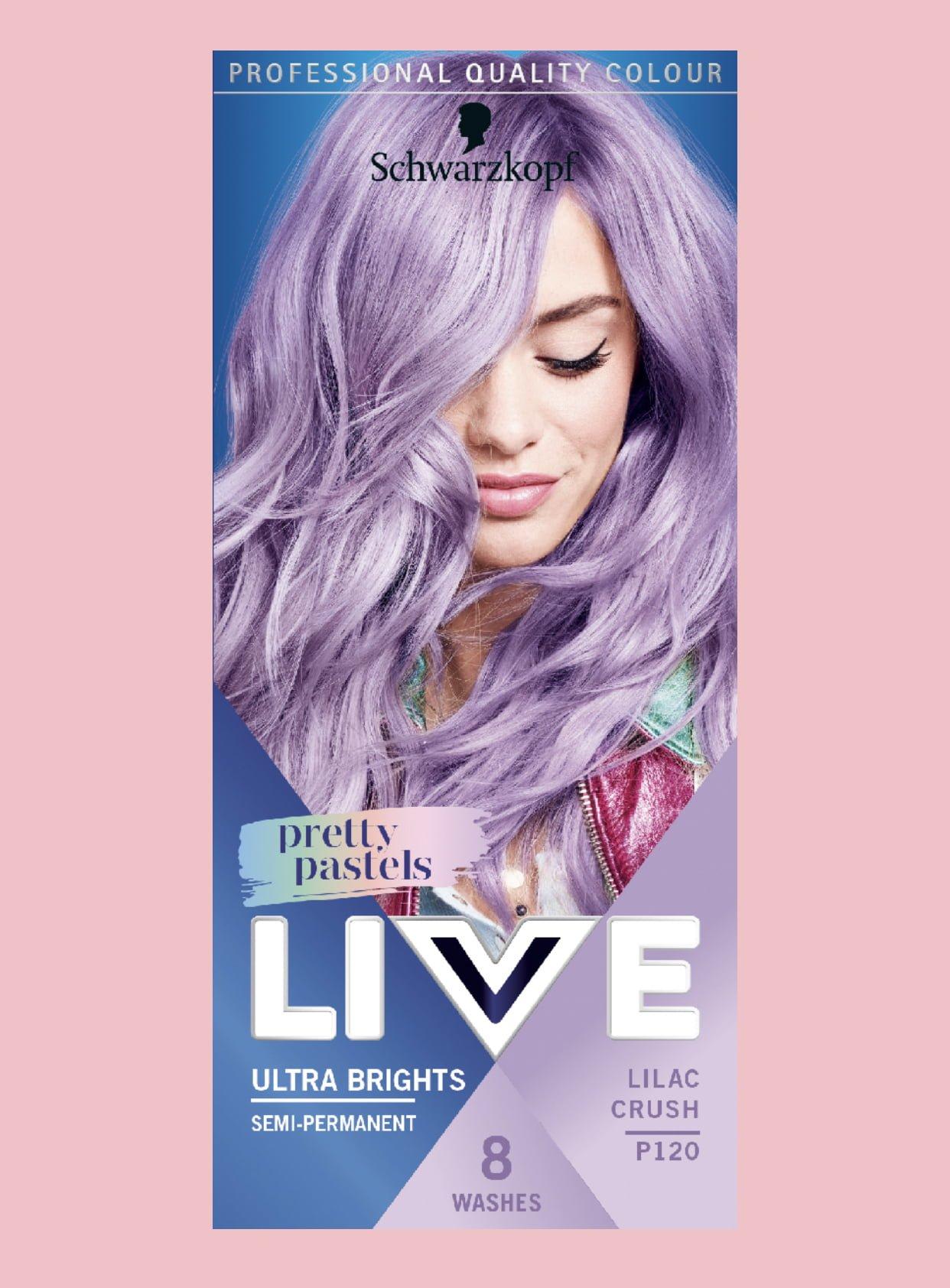 Schwarzkopf Live Pretty Pastels Collection 1