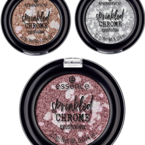 Essence Sprinkled Chrome Eyeshadows