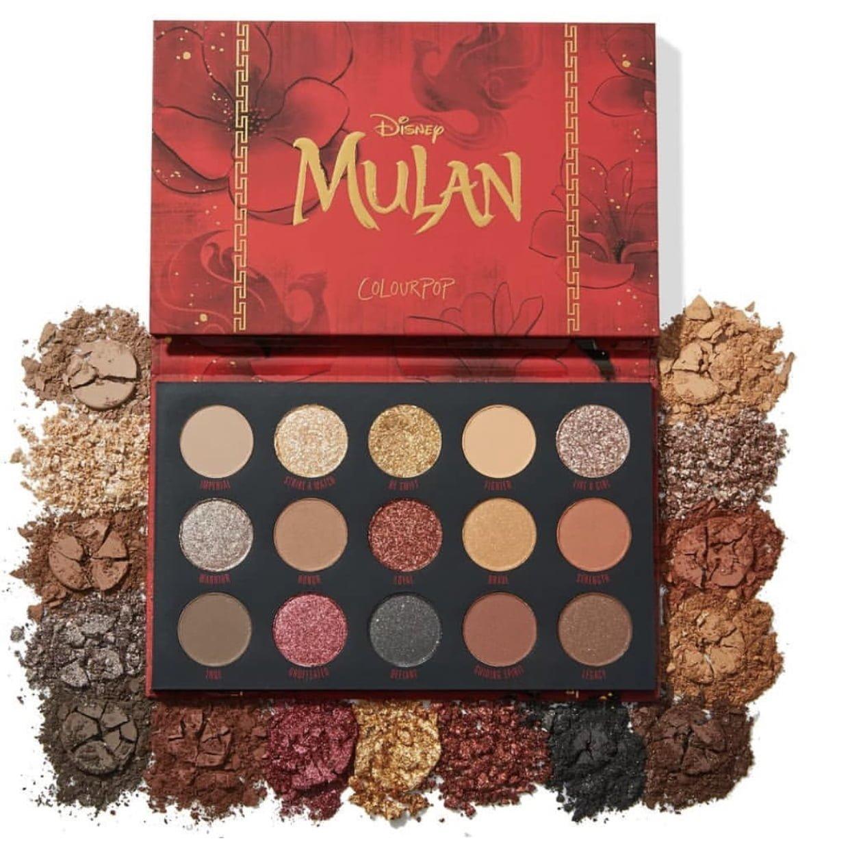 ColourPop Disney Mulan Collection Full Reveal!