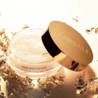 Farsali Rose Gold Elixir 24K Moisturizing Gel Cream