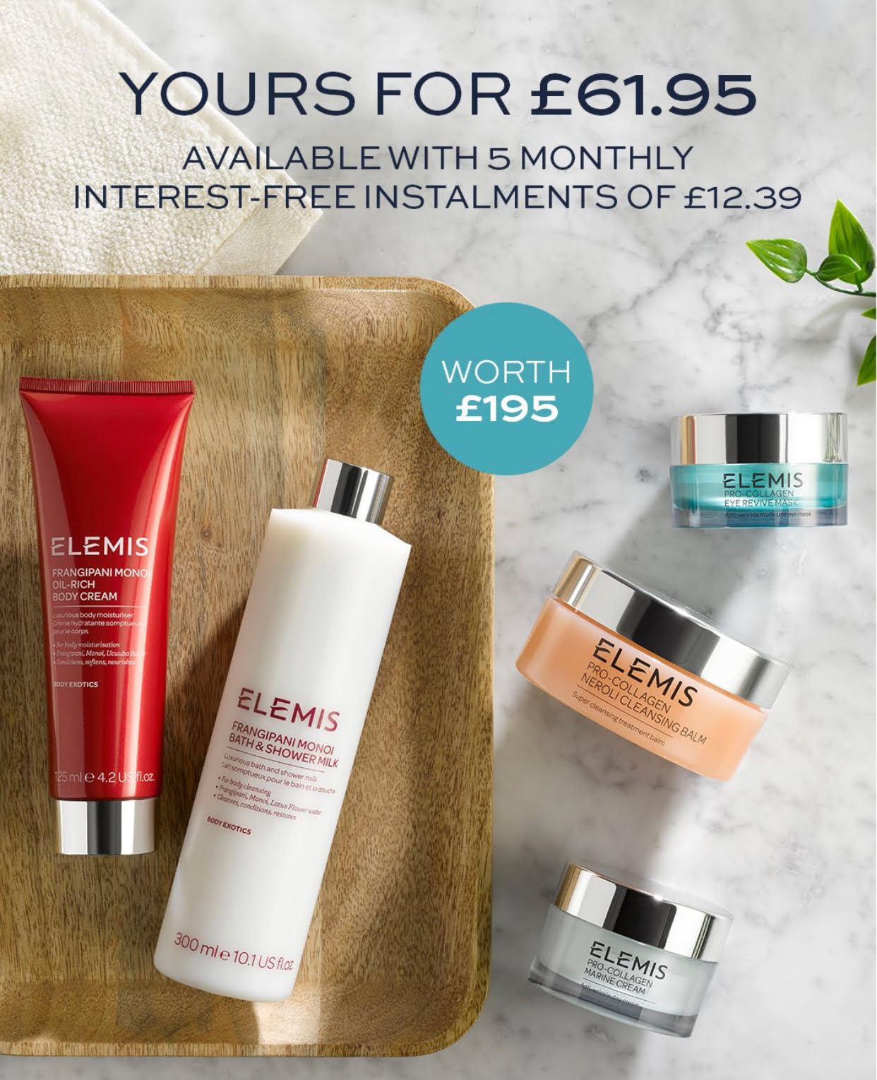 Elemis Pro-Collagen Anti-Ageing Hydrate & Revive 5 Piece Collection