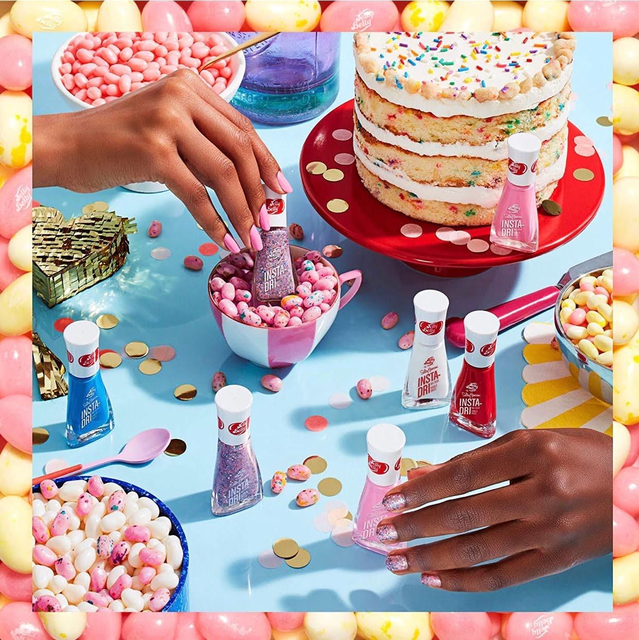 Sally Hansen Insta-Dri x Jelly Belly Nail Polish