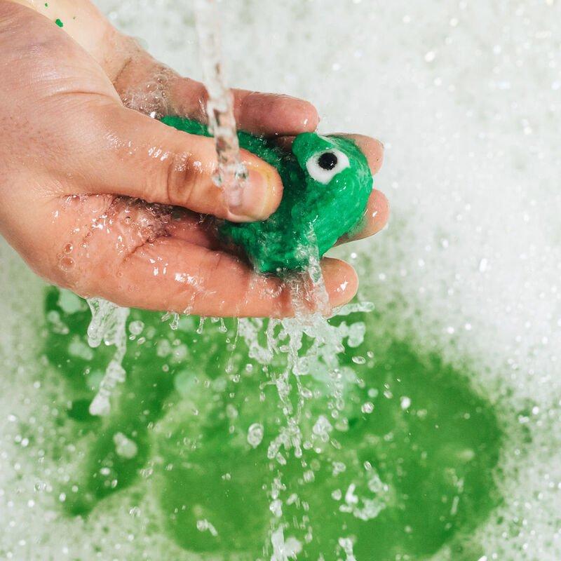 Lush Dinosaur Bombshell Egg Bath Bomb