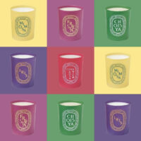 Diptyque Colouring Spring Candle Collection