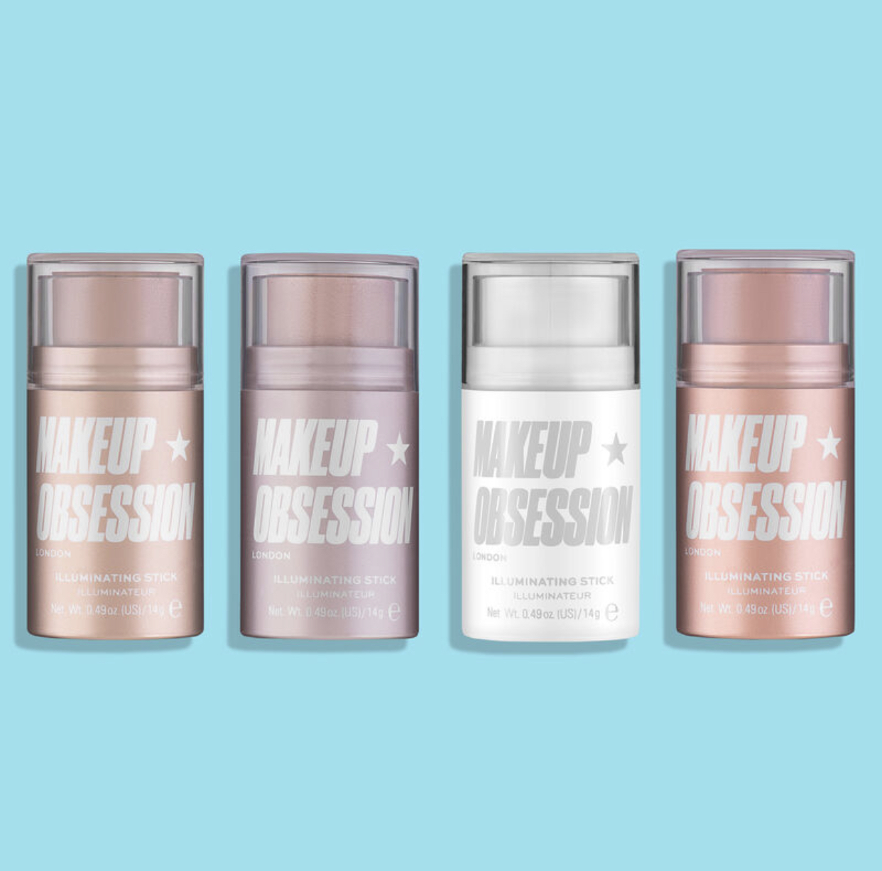 Makeup Obsession Illuminating Shimmer Highlighters