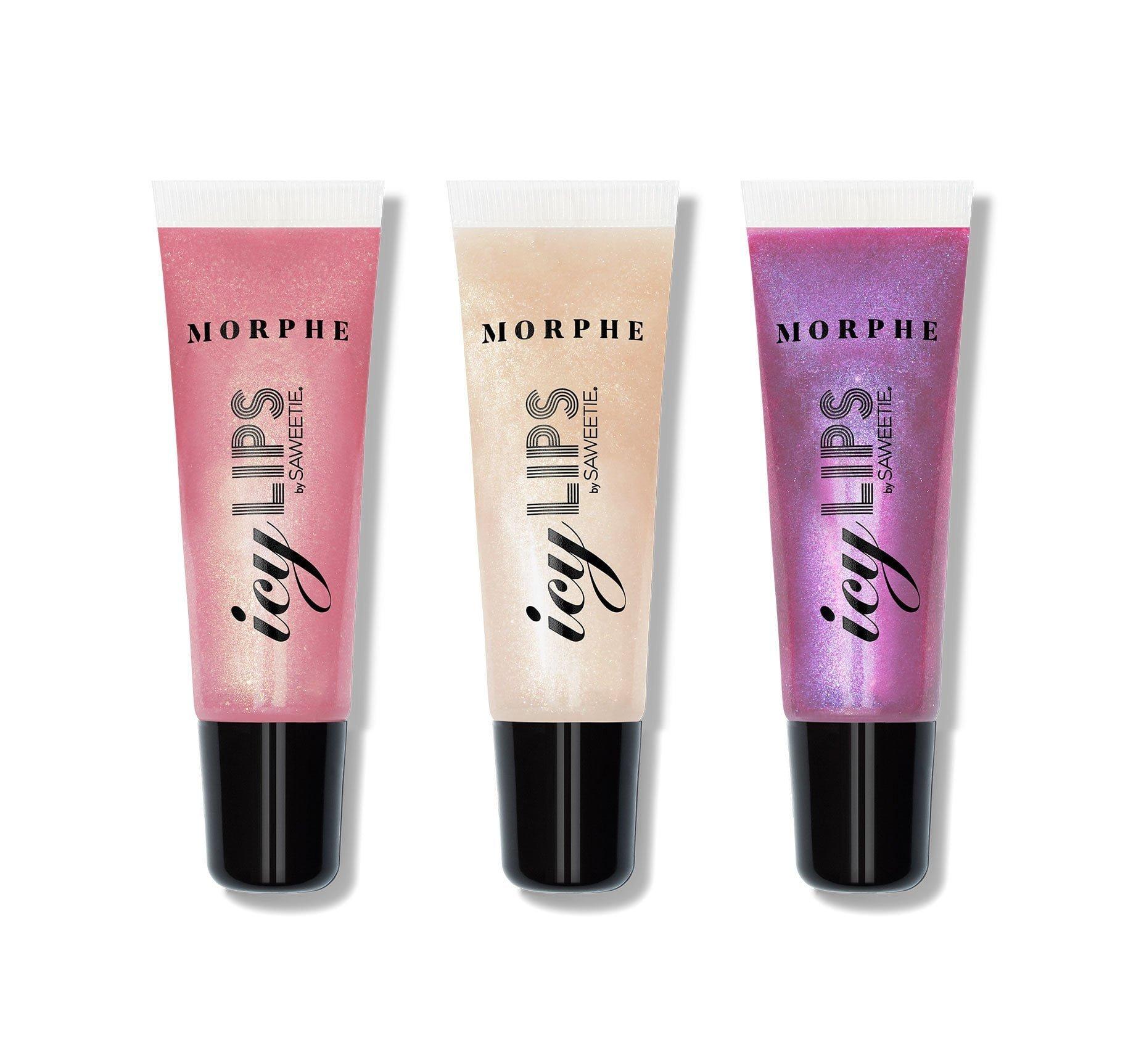 Morphe Icy Lips By Saweetie Lip Gloss Set