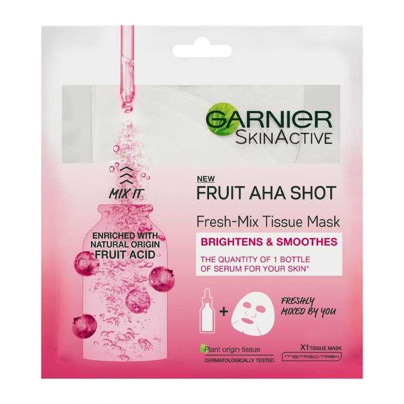 Garnier Fresh Mix Fruit AHA Shot Sheet Mask