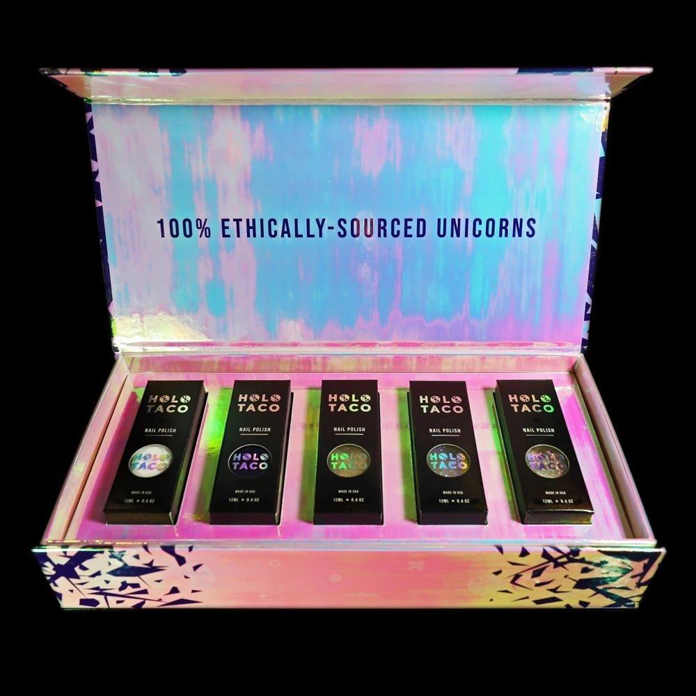 Holo Taco Unicorn Skin Collection Launch