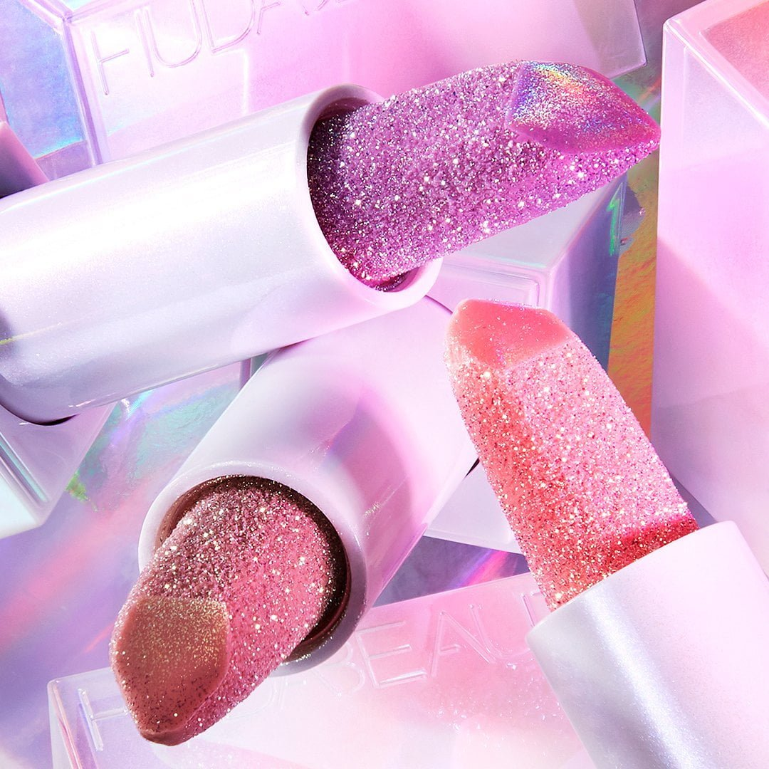 Huda Beauty Diamond Hydrating Balms Diamond Lip Balms