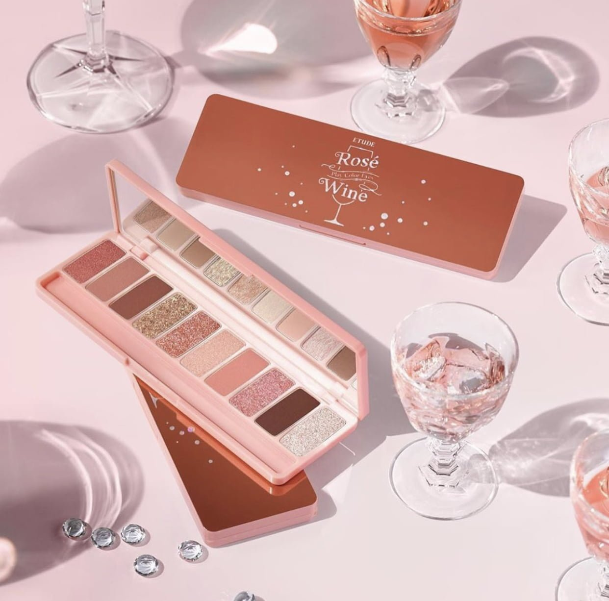 Etude House Rosé Wine Play Color Eyes Palette