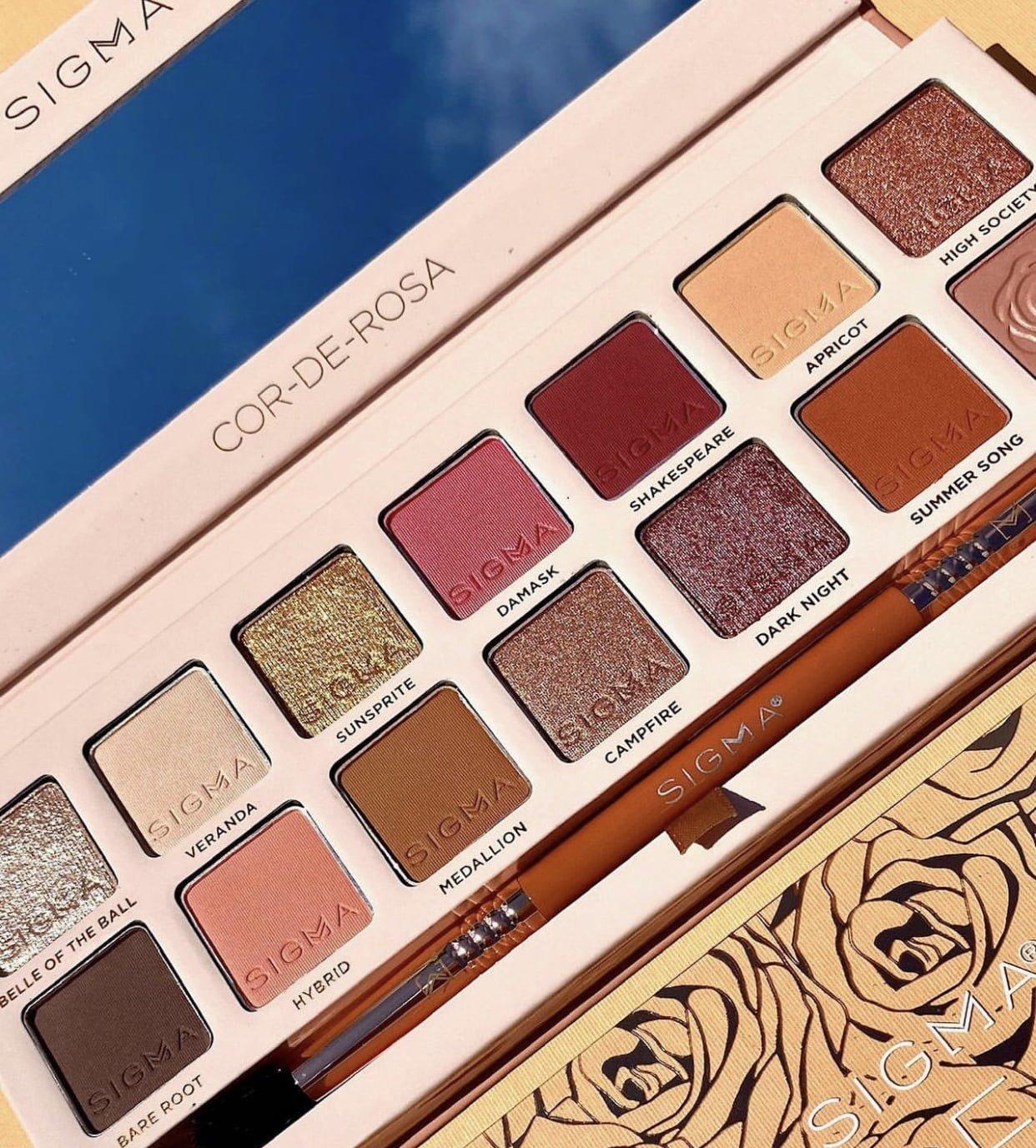 Sigma Cor de Rosa Eyeshadow Palette