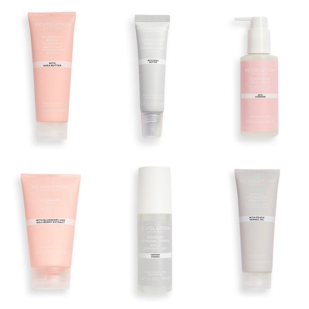 Revolution Skincare Cleansers Collection