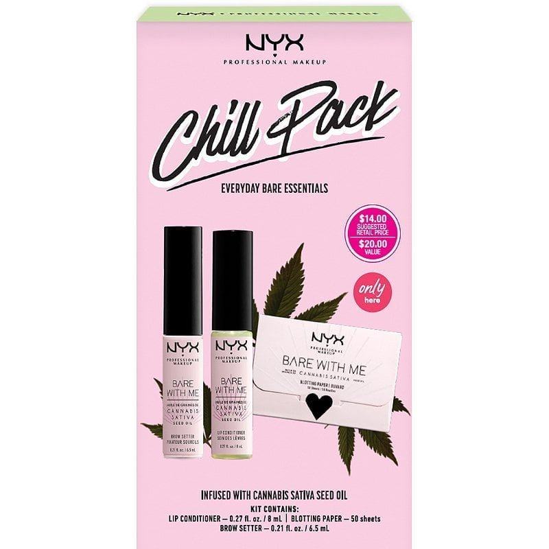 NYX Chill Pack Everyday Bare Essentials