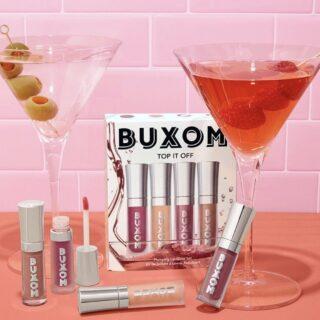 Buxom Top It Off Plumping Lip Gloss Set