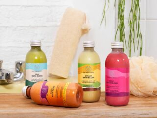 The Body Shop Bath Blend Collection