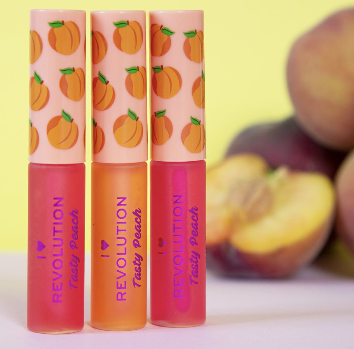 I Heart Revolution Peach Collection