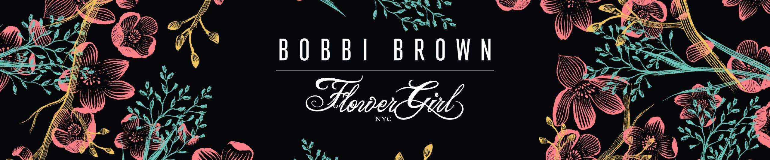 Bobbi Brown Flower Motif Collection