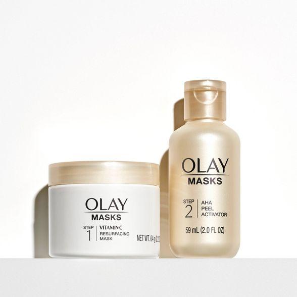 Olay Radiant AHA Resurfacing Peel Face Mask