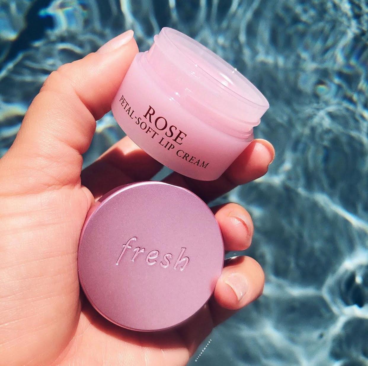 Fresh Beauty Rose Petal Soft Lip Cream
