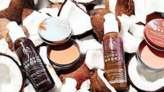 The Body Shop Coconut Bronze Collection